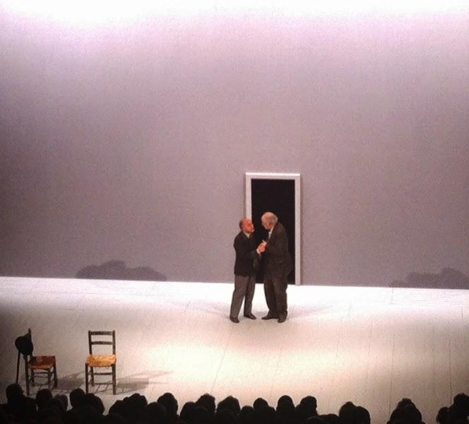 Le voci di dentro with actor Toni Servillo, in Paris